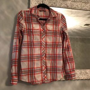 North Face Button Up